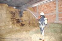 BÜYÜKBAŞ HAYVAN - MHP İlçe Başkanına Ait Çiftlikte Korkutan Yangın