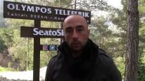 TAHTALI DAĞI - Olympos Teleferik Yarıyıl Tatilinde 14 Bin Kişiyi Zirveye Taşıdı
