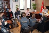 İSMAIL ALTıNDAĞ - Seashine Dans Akademi'den Bodrum Belediyesi'ne Ziyaret