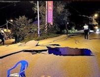 TSUNAMI - Tayvan'da korkutan deprem
