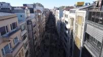 İSTİKLAL CADDESİ - Yeni Haliyle İstiklal Caddesi Havadan Görüntülendi