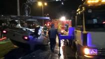 TRAFİK POLİSİ - Zonguldak'ta Trafik Kazası Açıklaması 2 Yaralı