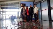 EVLİLİK TEKLİFİ - Afrin'e Gitmeden Önce Sevgilisine Sürpriz Evlilik Teklifi Yaptı