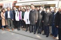 HASTA YAKINI - AK Parti İl Başkanı Dağdelen Açıklaması 'Kanımızla Canımızla Hizmetinizdeyiz'