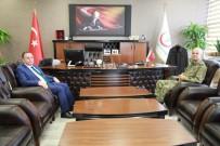 PİYADE ALBAY - Albay Yenilmez'den Sağlık Müdürü Akdoğan'a Ziyaret