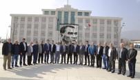ALİ ALKAN - Başkan Genç, Şoförler Odası Yönetimini Ağırladı