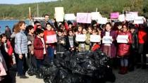 GÜVERCINLIK - Bodrum'da Deniz Dibi Ve Kıyı Temizliği