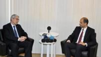 DIŞİŞLERİ BAKANLIĞI MÜSTEŞARI - Büyükelçi Kanbay, KKTC Dışişleri Bakanı Özersay İle Görüştü