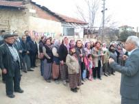 ÖZDEMIRCI - Çivril'de Vatandaşların Yetersiz Alt Yapı Eylemi