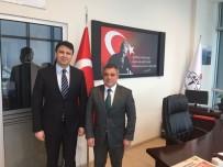EMEKLİ ALBAY - Cumhuriyet Savcısı Osman Çabuk, Afyon Eğitim Vakfı'nı Ziyaret Etti