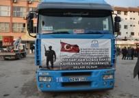 SELAMI KAPANKAYA - El-Bab'daki Komandolara 1 Tır Su Gönderildi