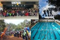 SU SPORLARI - Gençlik Kampı Havuzun Şampiyonlarını Ağırladı