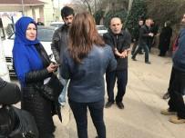 TOPRAK KAYMASI - Heyelan Bölgesindeki Mahalleliden CHP'ye Tepki