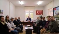 HIYERARŞI - İl Müdürü Yıldız'dan Yeni Atanan Şube Müdürlerine Ziyaret
