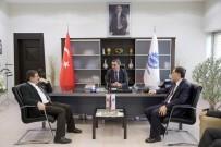 ŞEREF MALKOÇ - Kamu Başdenetçisi Malkoç'tan KAYSO Başkanı Büyüksimitci'ye Ziyaret