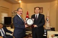 KAMU DENETÇİLERİ - Kamu Başdenetçisi Şeref Malkoç, Erü'yü Ziyaret Etti