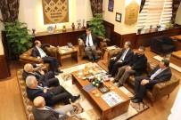 HAYIRSEVER İŞ ADAMI - KARDEMİR AŞ. Yönetim Kurulu Başkanı Öz'den Rektör Polat'a İade-İ Ziyaret