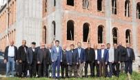 ENGELLİ ASANSÖRÜ - Kaymakam Kula, Koyuncu Yeni Merkez Camisi İnşaatını İnceledi