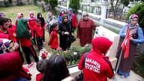 KUNG FU - Şampiyon Sporculardan Şehit Polisin Mezarına Ziyaret