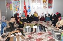 KADIN DERNEĞİ - Şırnaklı Kadınlar Mehmetçik İçin Ördü