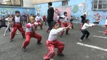 TEVFİK FİKRET - Surlu Çocuklar Kick Boksta Hedef Büyüttü