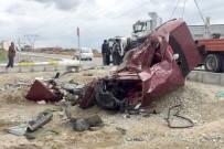 ÖLÜMLÜ - Uşak'taki Kazalarda 27 Vatandaş Hayatını Kaybetti