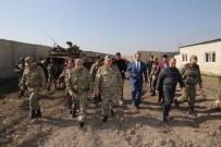 FAIK ARıCAN - Vali Aktaş, Suriye Sınırında İncelemelerde Bulundu