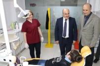 DİŞ TEDAVİSİ - Vali Dağlı Çocuk Diş Polikliniğini İnceledi