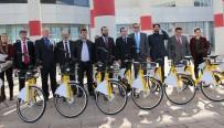 4. Nesil Paylaşımlı Bisiklet Platformu Türkiye'de İlk Kez KMÜ'de