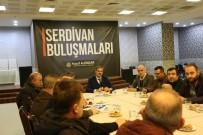 SERDİVAN BELEDİYESİ - Başkan Alemdar ASEM Yönetimini Ağırladı