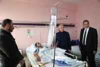 Başkan Başsoy' Dan Hastahane Ziyareti