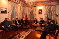 EMIN BILMEZ - Başkan İmamoğlu, Kars Ve Ardahan'da Temaslarda Bulundu