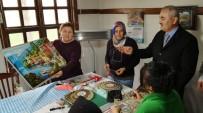 Başkan Karataş Kadın Kültür Ve Sanat Merkezini İnceledi