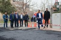 MUSTAFA YıLMAZ - Başkan Uysal, Asfaltlama Çalışmalarını İnceledi