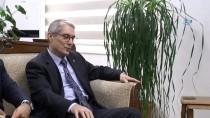 LEFKOŞA - Büyükelçi Kanbay'dan KKTC Maliye Bakanı Denktaş'a Ziyaret