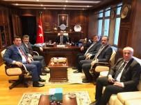 FARUK ÇATUROĞLU - Çaturoğlu Milli Emlak İle Mülkiyet Sorununu Görüştü