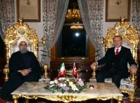 RUSYA FEDERASYONU - Cumhurbaşkanı Erdoğan, İran Cumhurbaşkanı Ruhani ile görüştü