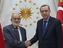 TEMEL KARAMOLLAOĞLU - Cumhurbaşkanı Erdoğan SP liderini kabul edecek