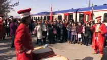 DEMİRYOLLARI - 'Doğu Ekspresi' Yolcularına Mehteranlı Karşılama