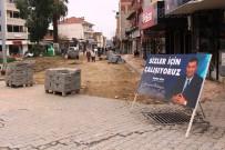 ÇANAKKALE ŞEHITLERI - Germencik Belediyesi Çanakkale Anıtı'nı Restore Ediyor