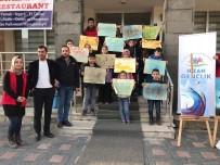 MURAT AYDıN - Hizanlı Çocuklardan Ebru Sanatına Büyük İlgi