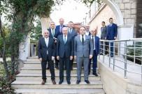 ŞAKIR YÜCEL KARAMAN - İBB Başkanı Mevlüt Uysal'dan Güngören Belediyesi'ne Ziyaret