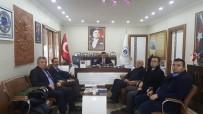 SAĞLIK MESLEK LİSESİ - İl Genel Sekreter Yardımcısı Çelebi'den Pazaryeri Belediyesine Ziyaret