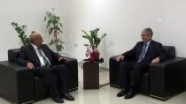 LEFKOŞA - KKTC Milli Eğitim Bakanı Özyiğit Büyükelçi Kanbay'ı Kabul Etti