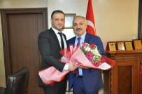 GÜVEN OYU - Matbaacılardan ESOB Başkanı Dinçer'e Ziyaret