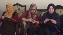MECIDIYE - Mehmetçik Afrin'de Üşümesin Diye Atkı Ve Bere Örme Seferberliği Başlattılar