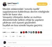 ŞAMİL TAYYAR - Milletvekili Tayyar'dan Zorunlu Üyelik Değerlendirmesi