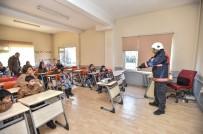 SÖNDÜRME TÜPÜ - Mülteci Çocuklara Yangın Eğitimi