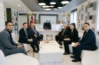 GÖÇ İDARESİ GENEL MÜDÜRLÜĞÜ - Müsteşar Yardımcısı Erdil Başkan Kutlu'yla Bir Araya Geldi