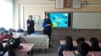 AHMET DEMİR - Polisten Öğrencilere Güvenlik Semineri
